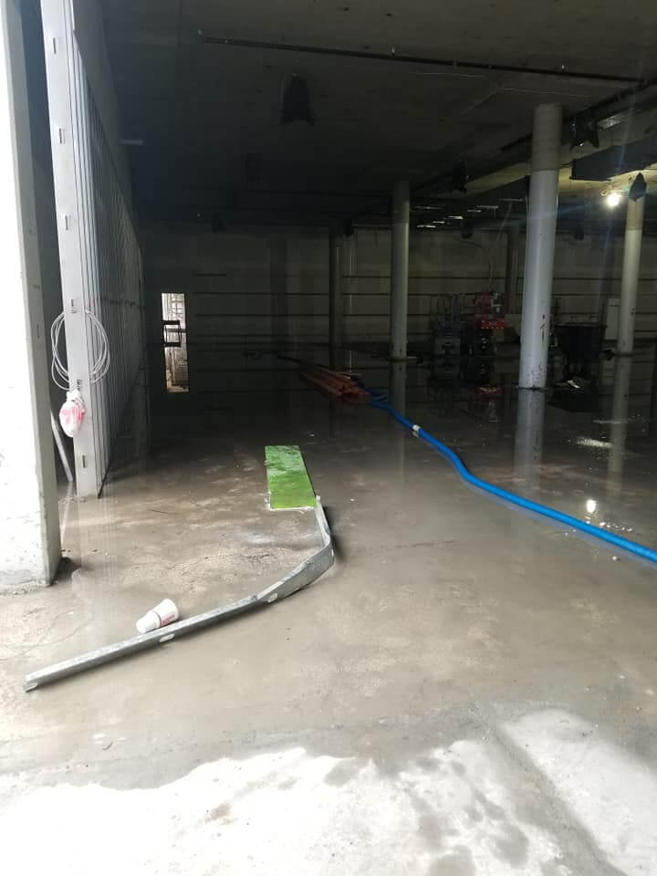 Over 200 000 Square Feet Of Water Damage At Milwaukee