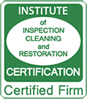 Institute of Inspection Cleaning and Restoration Certification Certified Firm